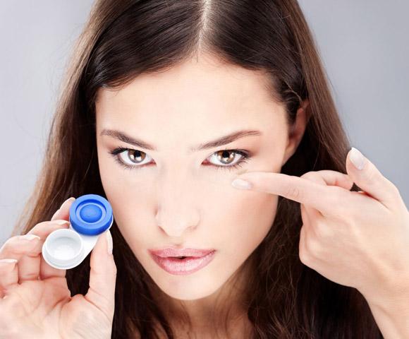 Типы контактных линз | Люксоптика