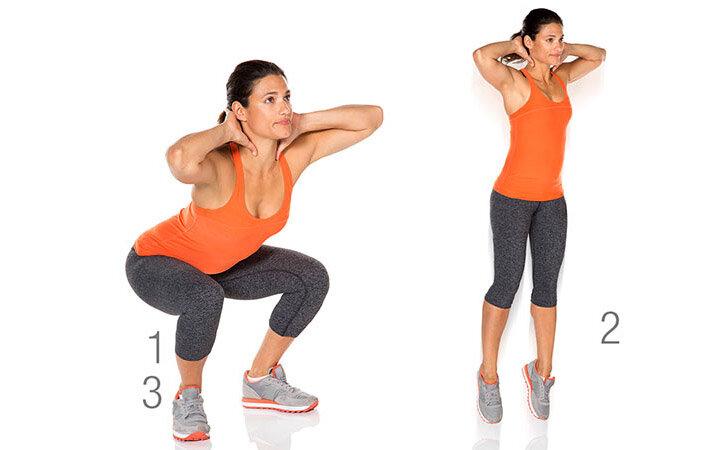3 упражнения на утро для здоровья поясницы и качественного кровообращения ног после 50.